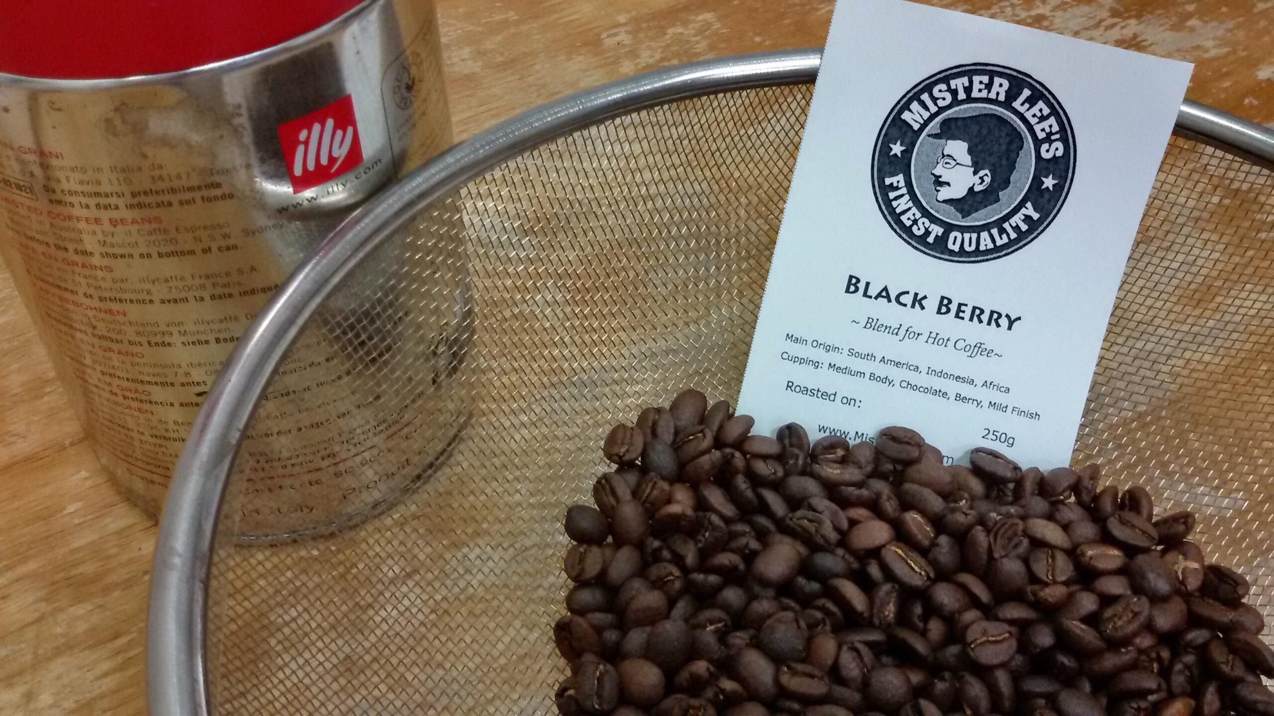 กาแฟ illy, BLACK BERRY