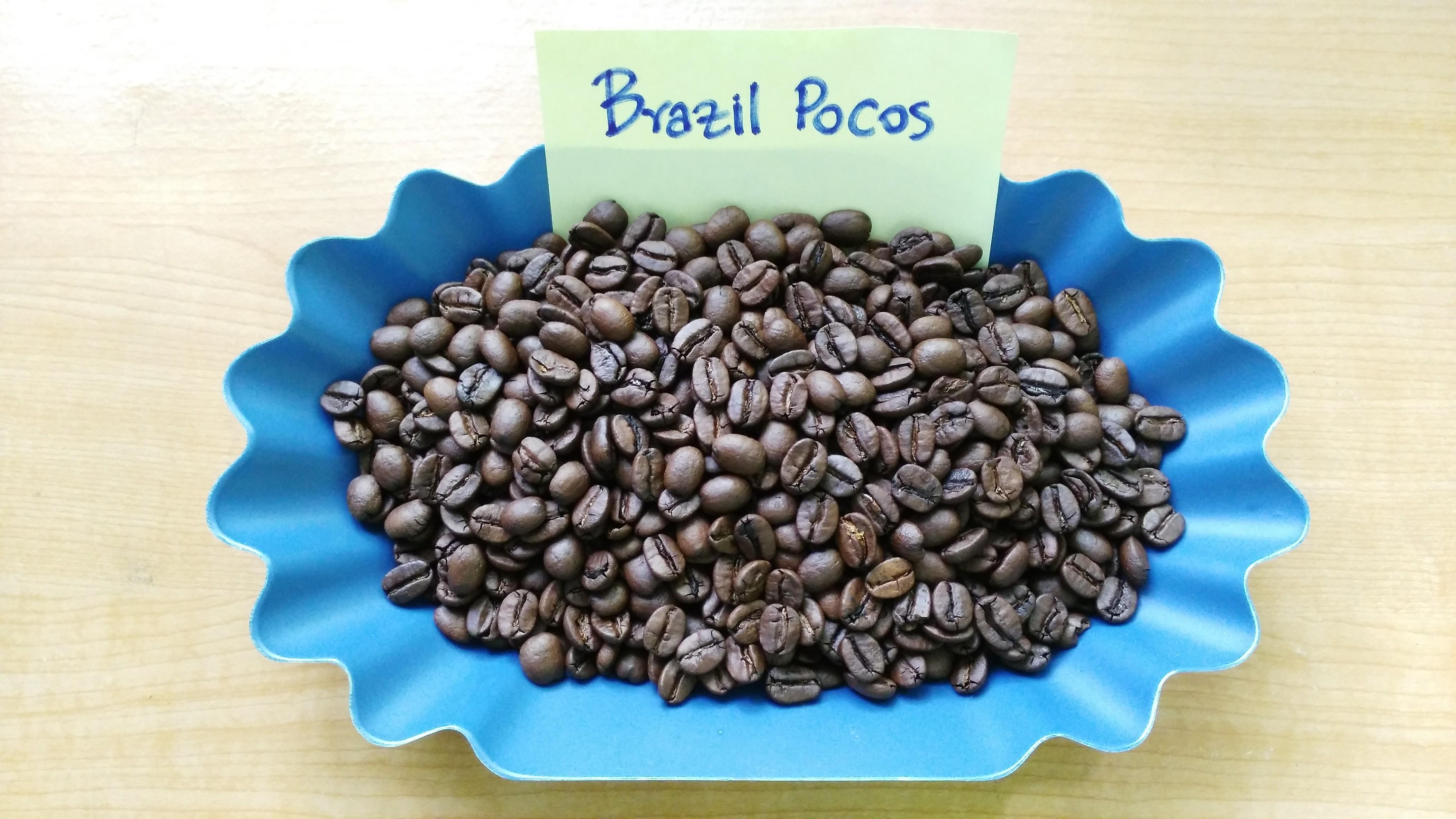 เมล็ดกาแฟคั่วบราซิลโปคอส ( BRAZIL POCOS )