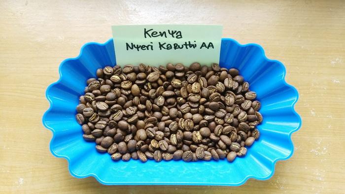 กาแฟ เคนย่า ( Kenya Nyeri Karuthi AA )