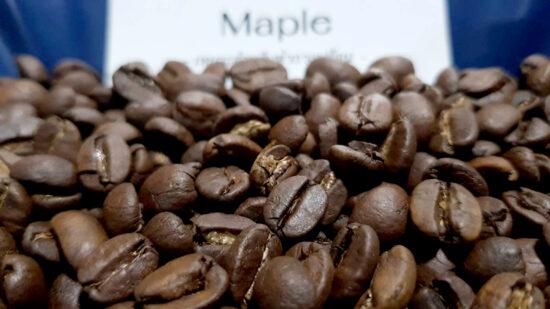 เมล็ดกาแฟคั่ว Maple