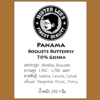 Panama Boquete Butterfly 70% Geisha