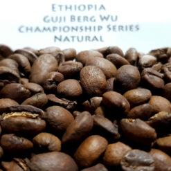 เมล็ดกาแฟคั่ว Ethiopia Guji Championship Series Berg Wu Natural