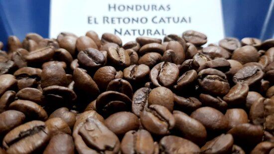 เมล็ดกาแฟคั่วอ่อน Hondurus El Retono Catuai Natural