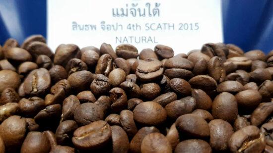 เมล็ดกาแฟ แม่จันใต้ สินธพ จือปา Natural