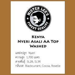 Kenya Asali AA Top Washed
