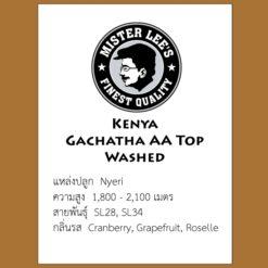 Kenya Gachata AA Top