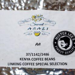 Kenya Asali AA Top Washed ML
