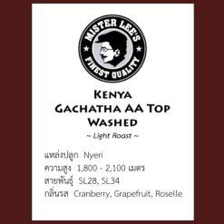 Kenya Gachatha AA Top