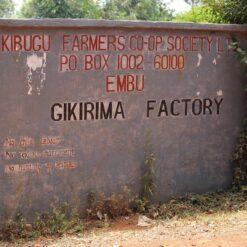 kenya Gikirima Factory